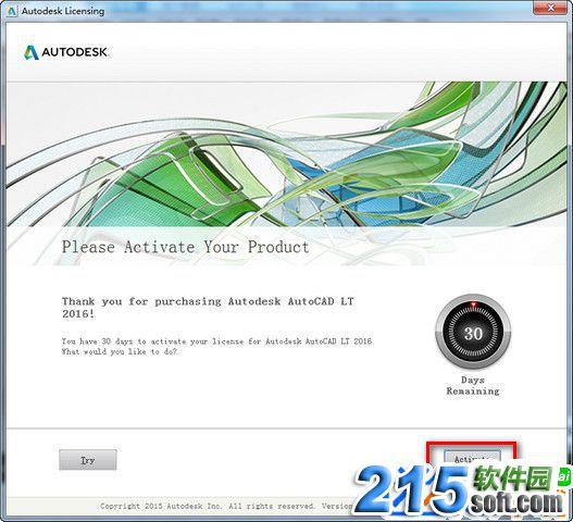 Autodesk Autocad LT 2016安装激活破解图文教程